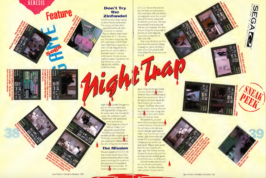 NIGHT TRAP MAGAZINE PREVIEW