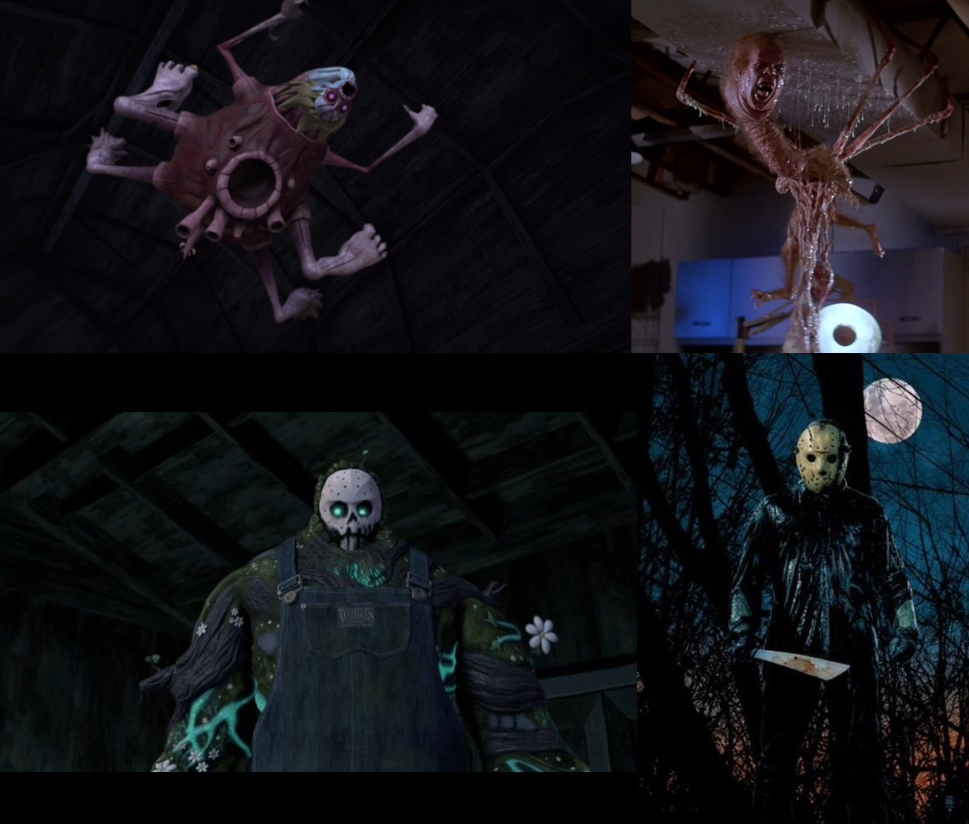 TMNT's references to classic horror films