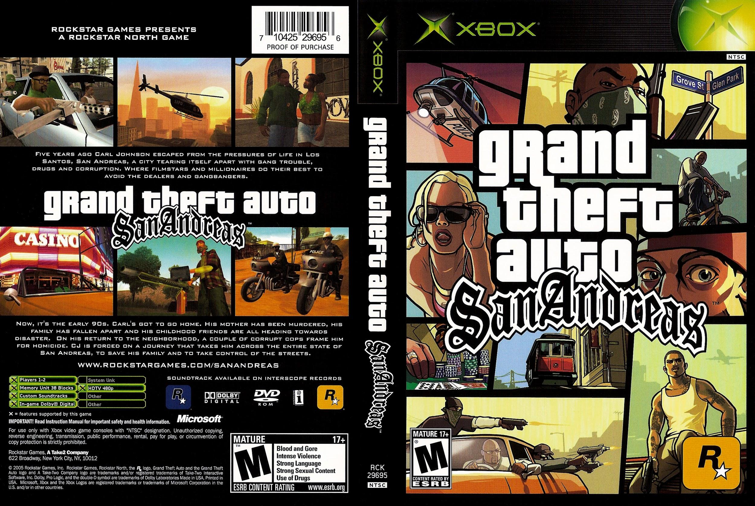Grand Theft Auto: San Andreas (2004)