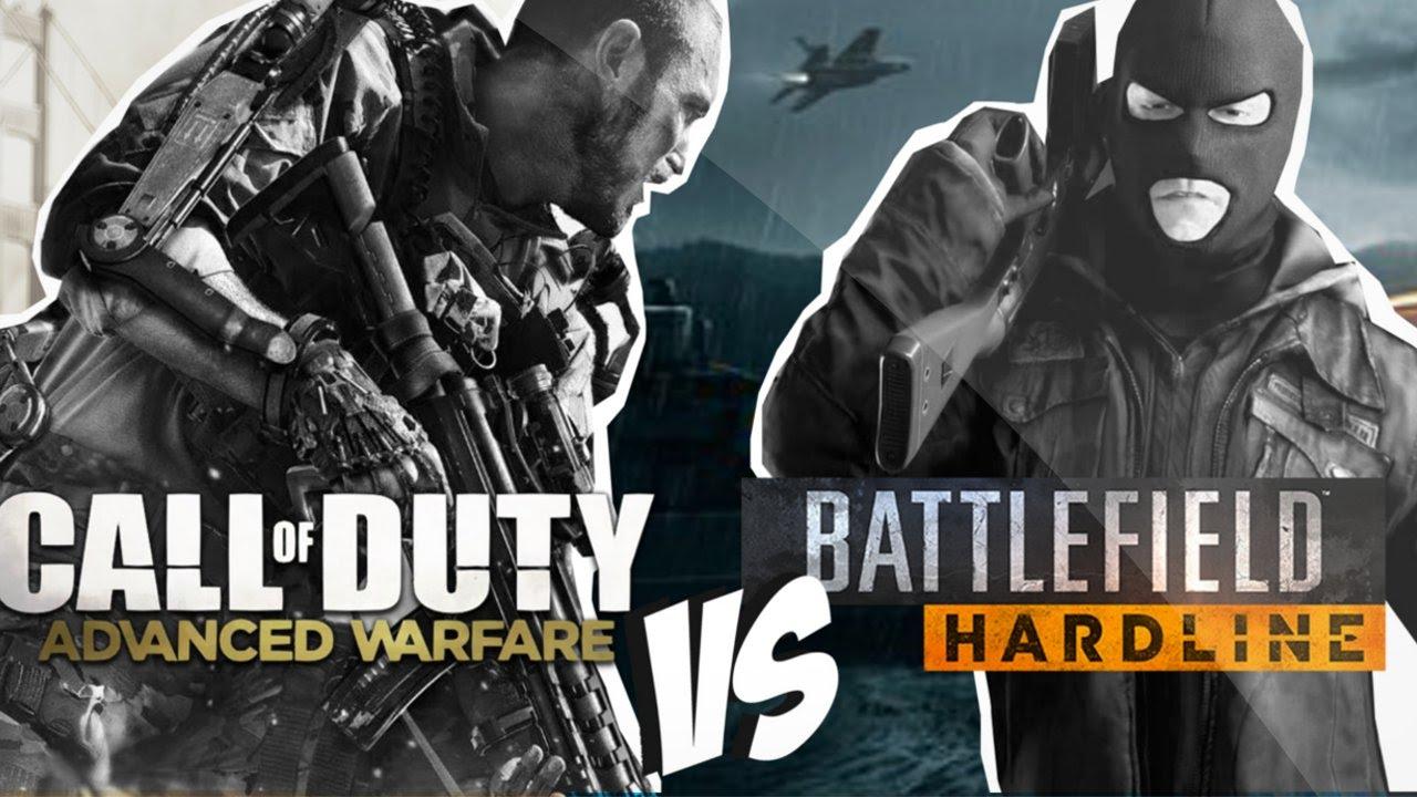 CoD:AW vs BF:Hardline