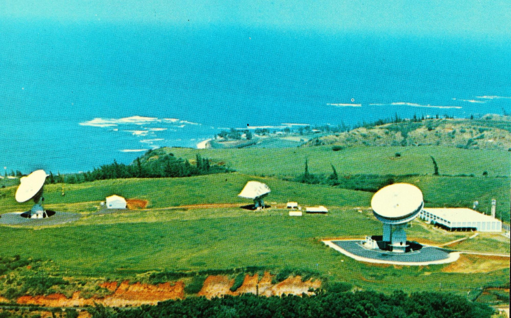 Paumalu Earth Station, Hawaii's Satellite Access Ground Station