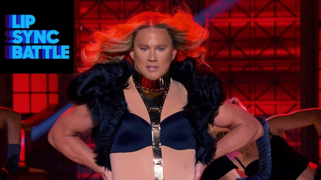 "Channing Tatum breaks out his version of Beyoncé for his rendition of ""Run the World (Girls)."""