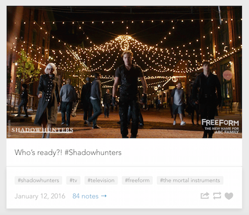 Shadowhunters Screencap