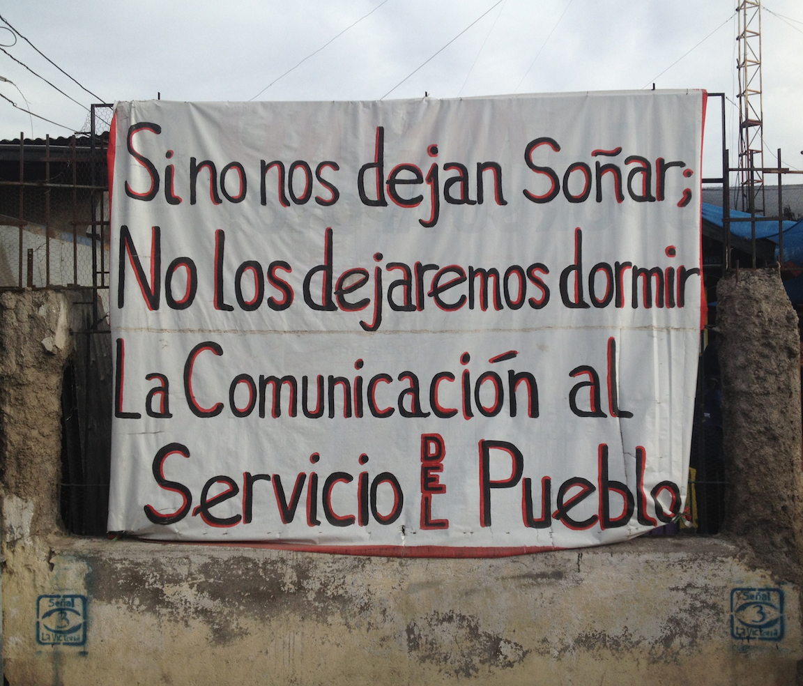 """If they won't let us dream, we won't let them sleep. Communication in service of the people."""
