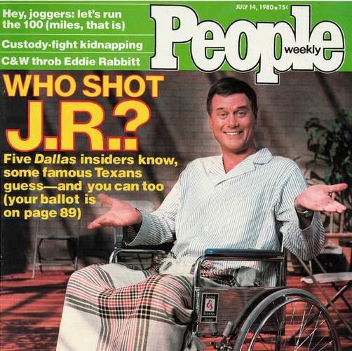 People Magazine Cover, 1980