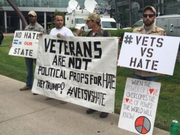 veteran protest