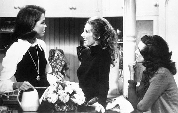 Mary, Rhoda, and Phyllis on The Mary Tyler Moore Show