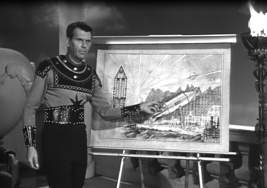 Still from Adventures of Superman