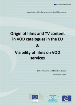 VOD catalogs report