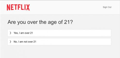 Netflix age restriction