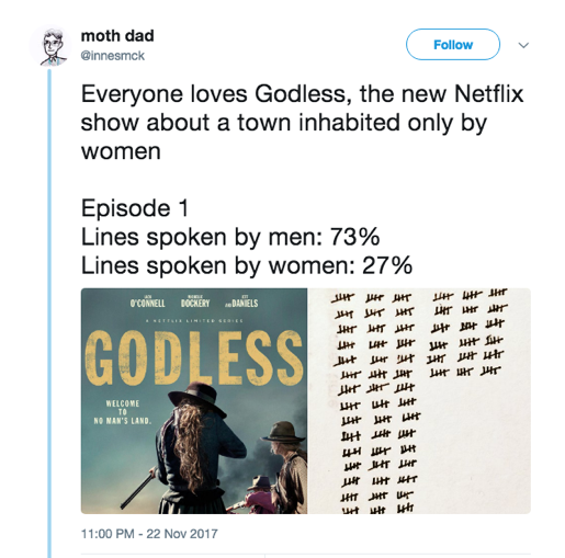 Godless Tweet