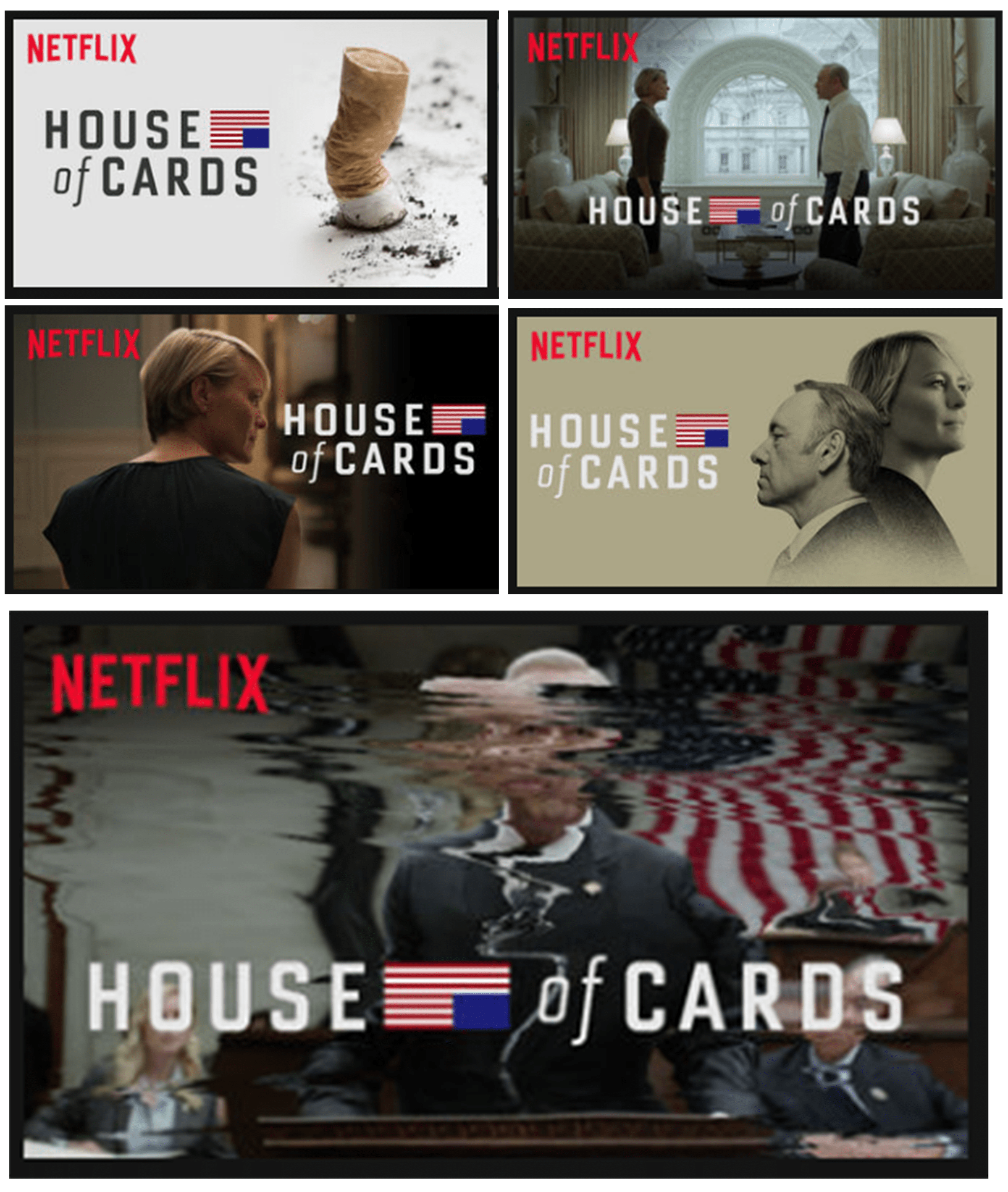 House of Cards Thumbnails