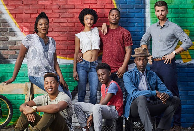 Cast of Showtime's The Chi
