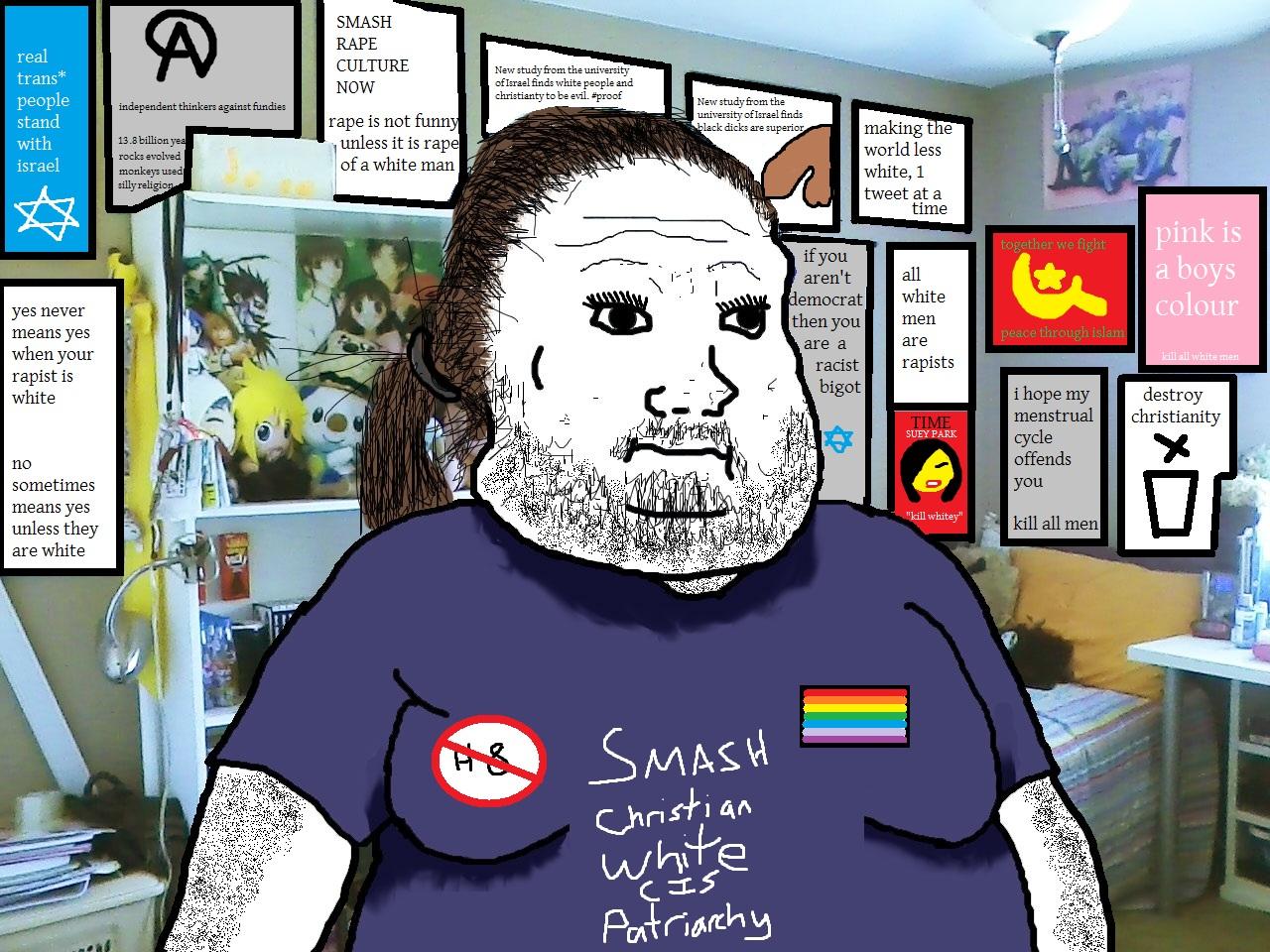 social justice weenie meme