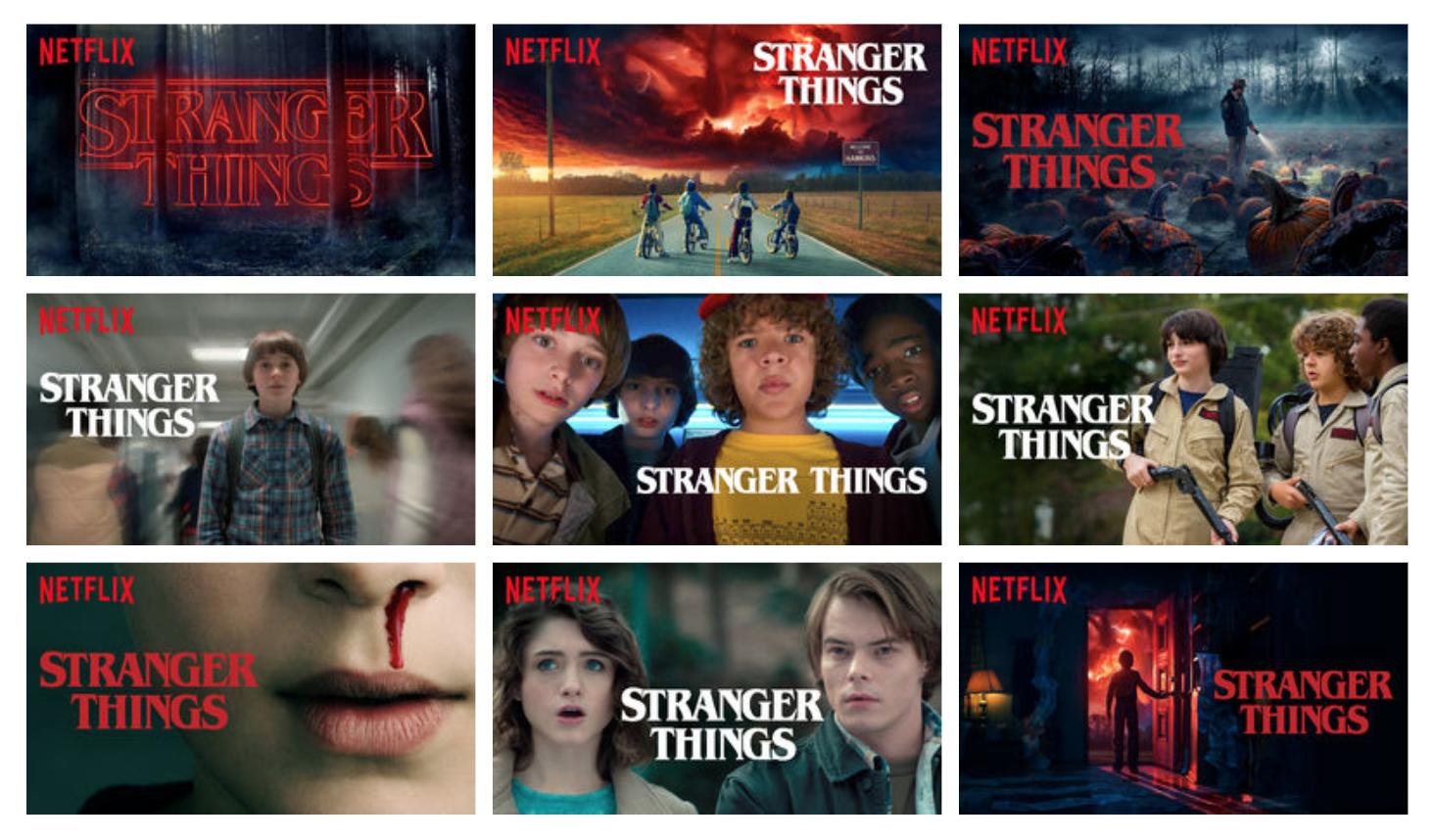 Netflix Banner Ads