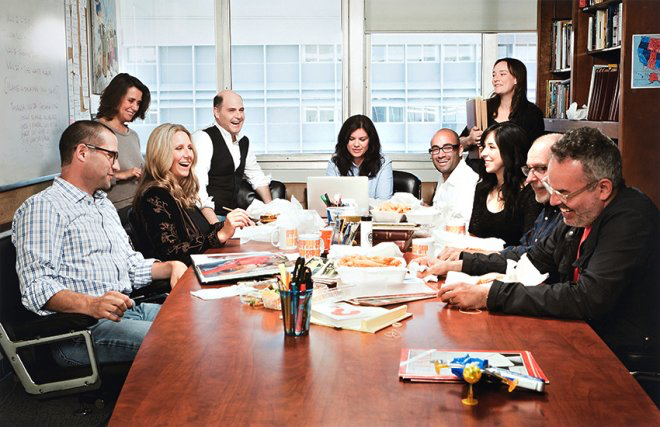 The Mad Men Writers' room
