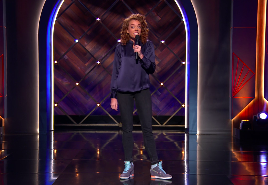 Michelle Wolf's monologue.