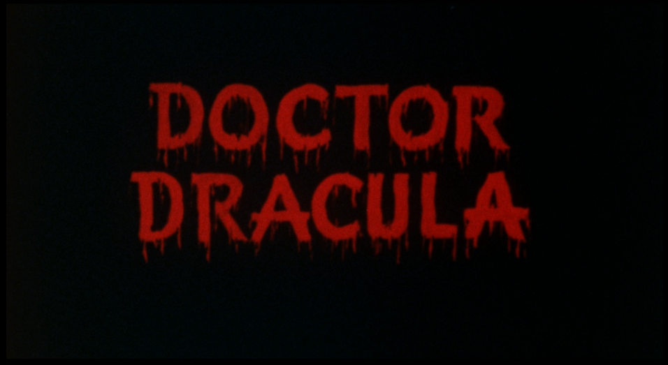 Doctor Dracula title card