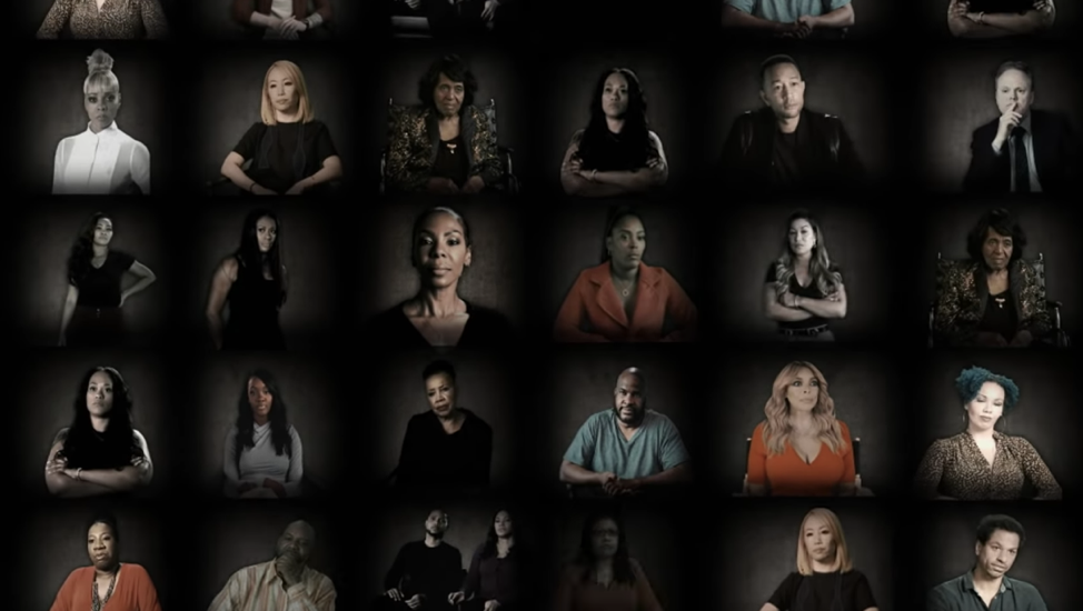 Screenshot of Lifetime's Surviving R. Kelly