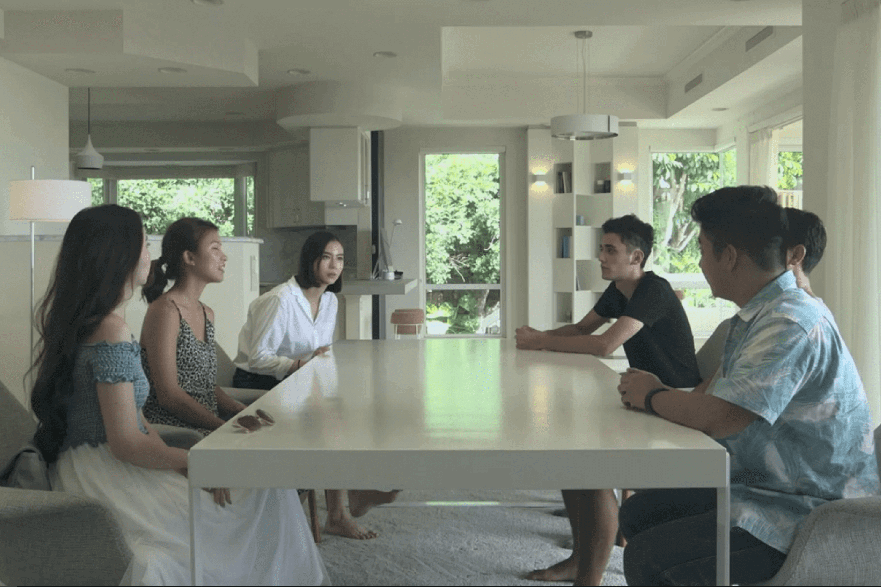 Original cast members of Terrace House: Aloha State