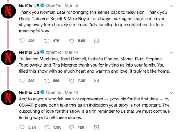 Netflix cancels ODAAT part 2
