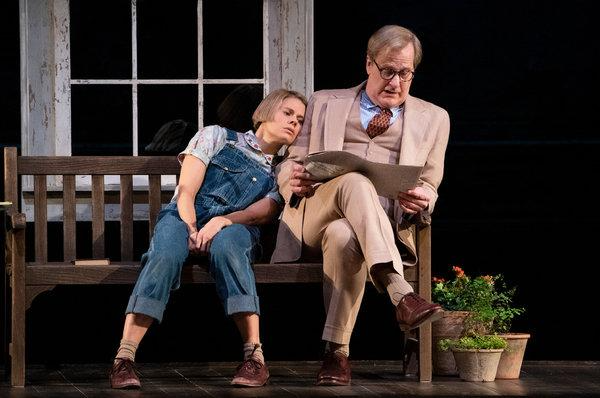 Celia Keenan Bolger and Jeff Daniels in To Kill a Mockingbird