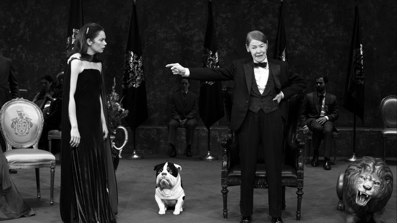 Ruth Wilson and Glenda Jackson in King Lear