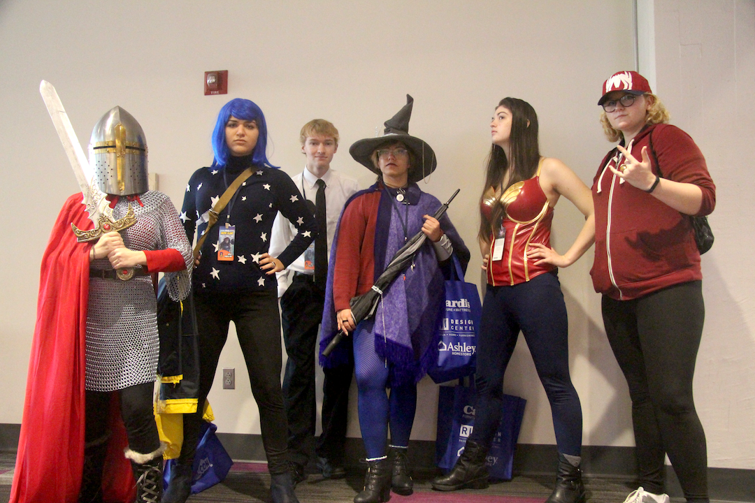 'We can be heroes': First-Year Students Cosplaying at Rhode Island Comic Con