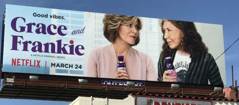 Grace and Frankie billboard
