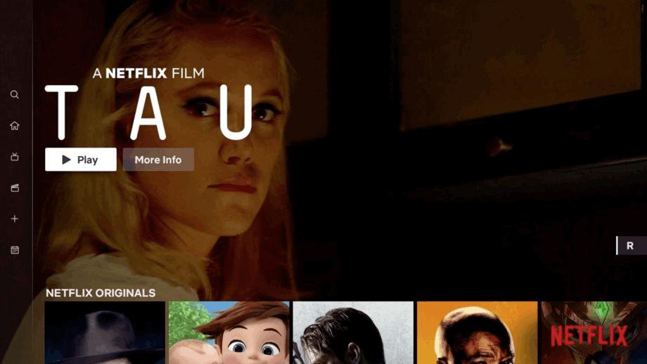 Netflix's current interface