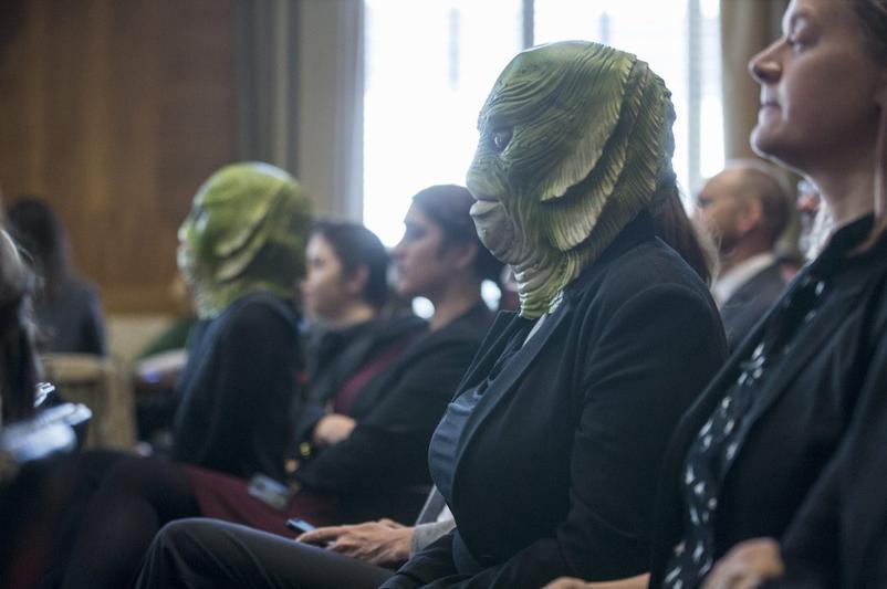 Swamp Creatures Senate Protest