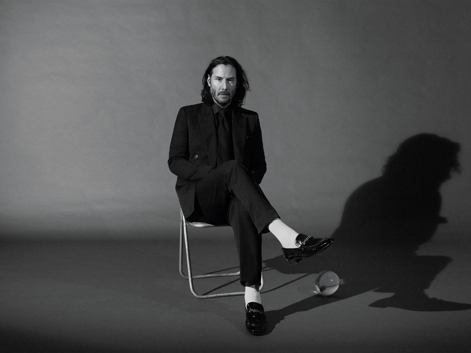 A recent photo shoot of Keanu