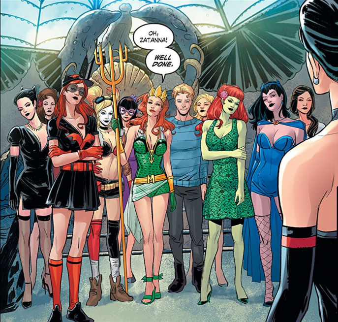 The DC Comics Bombshells cast