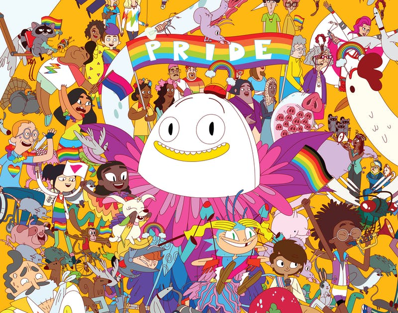 Danger & Eggs's Pride Parade finale