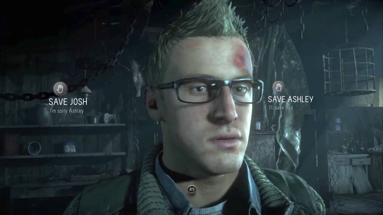 Branching choice narratives in video games like Until Dawn