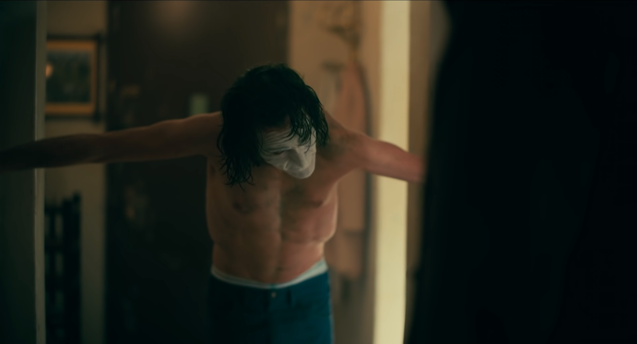 Joker looks up from unnatural pose in final trailer