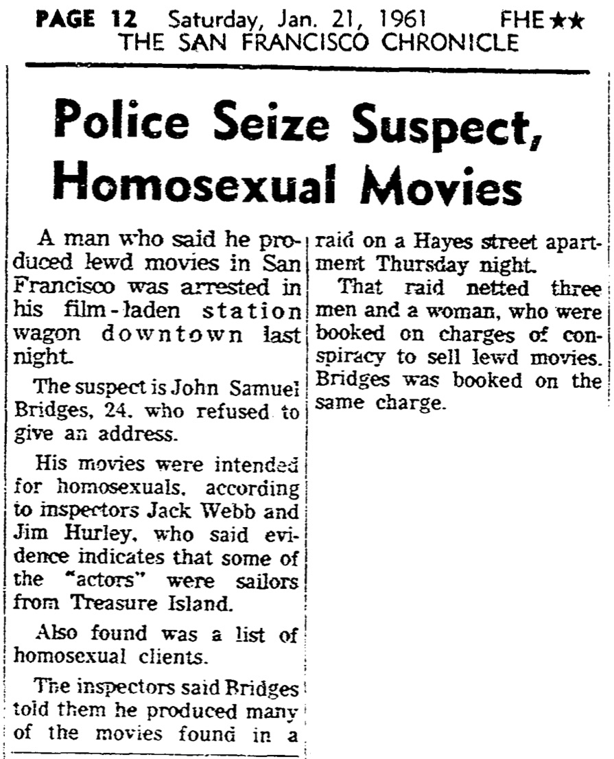 newspaper-clipping-police-seize-suspect-homosexual-movies