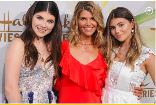 Lori Loughlin with daughters