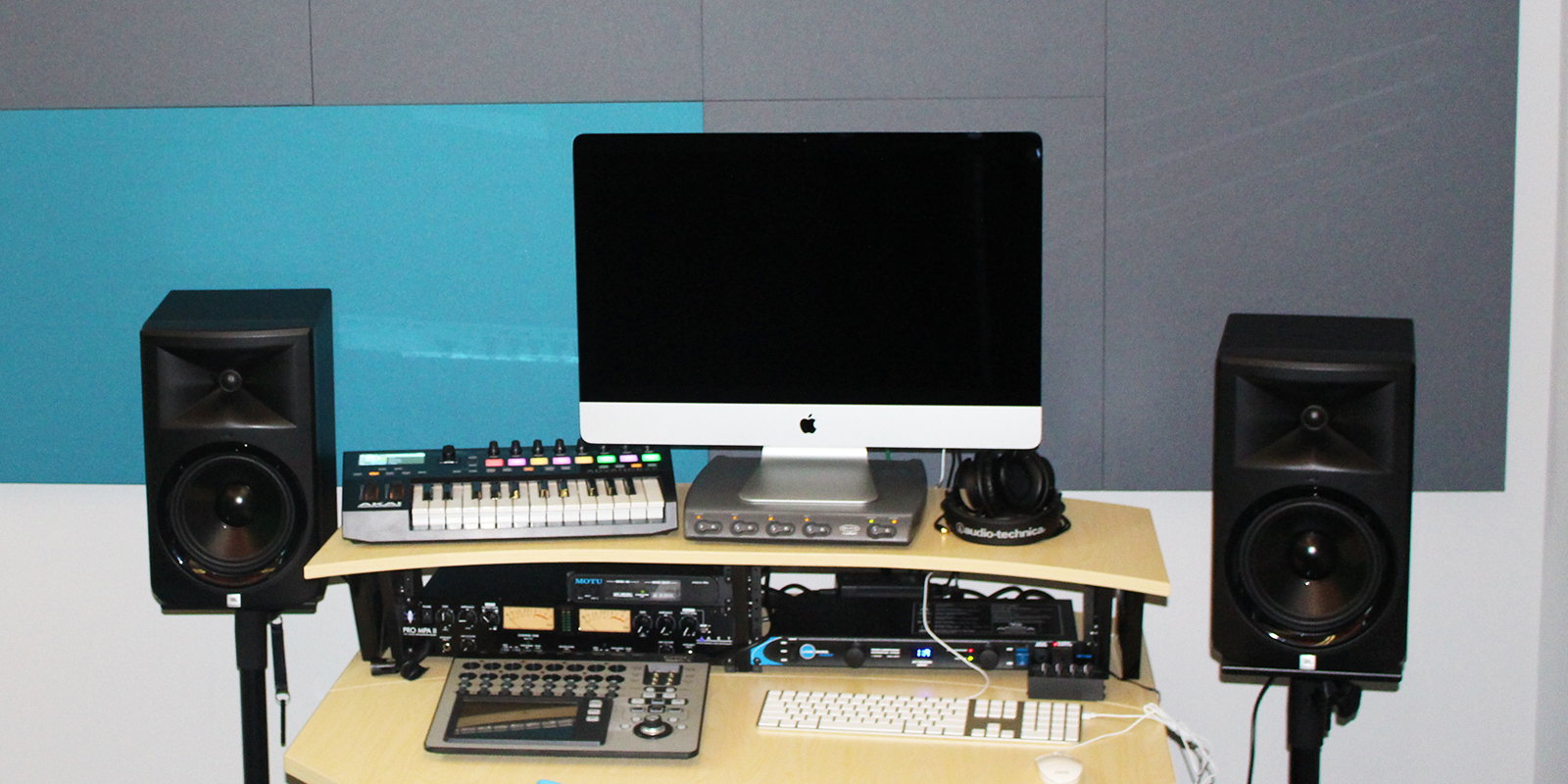San Diego teens can record and produce their own music using equipment at the IDEA Lab at Malcolm X Library, San Diego, CA