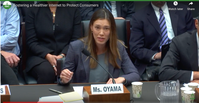 Google's Katherine Oyama testifies