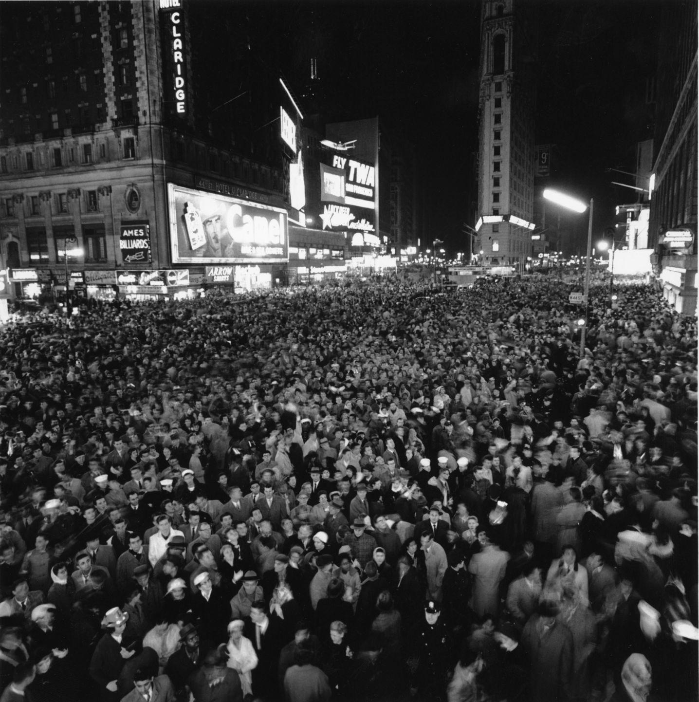 New York's Time's Square, New Year's Eve, 1959