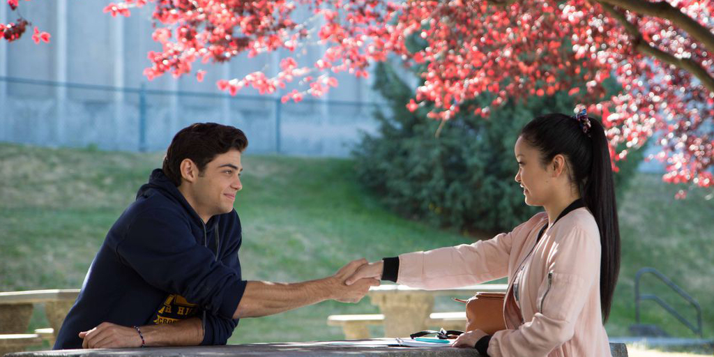 Still from To All The Boys I've Loved Before (Johnson, 2018)