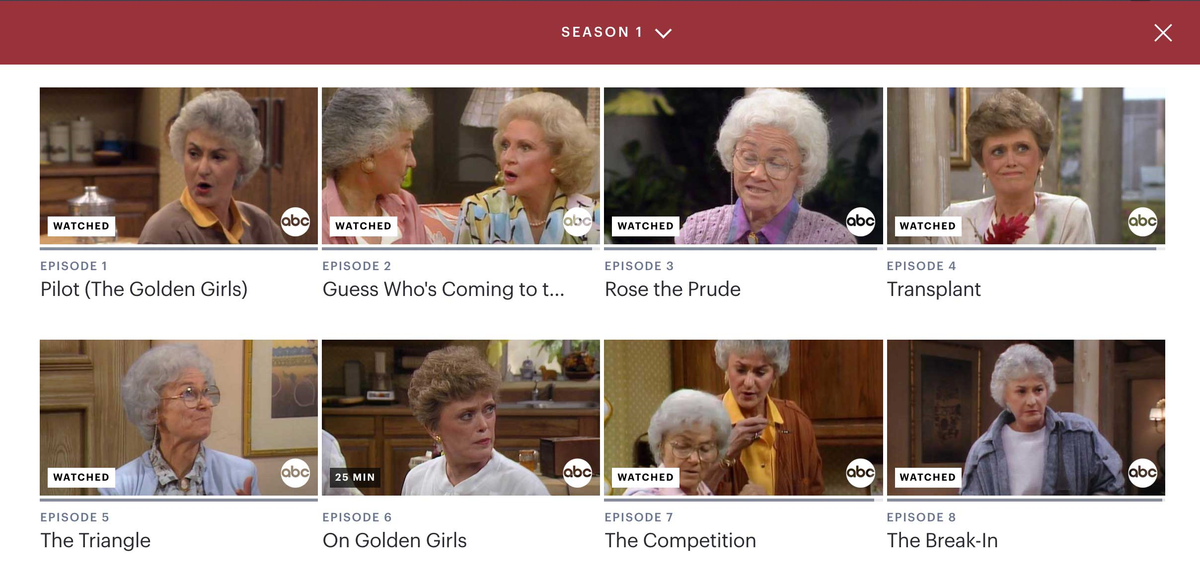 The Golden Girls on Hulu