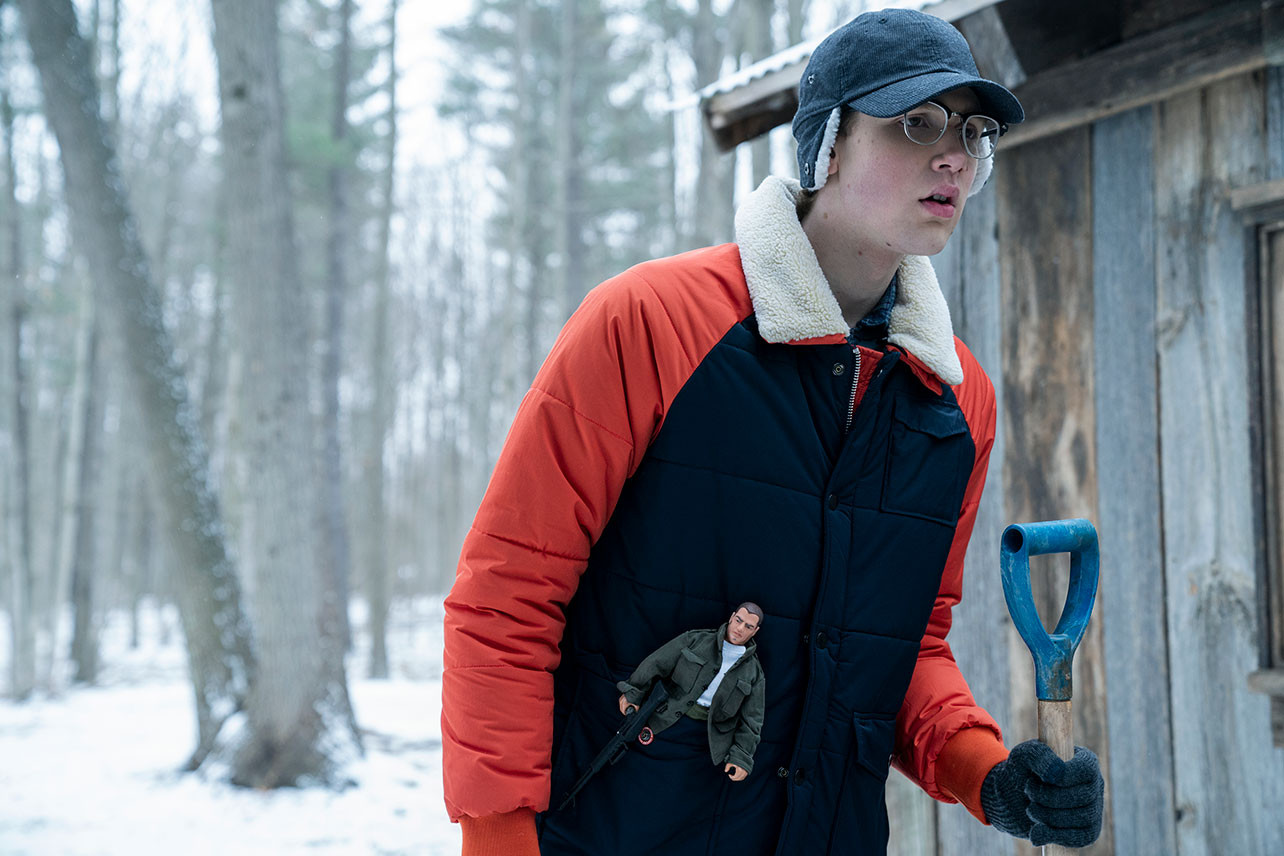 Coby Bird as Rufus Whedon in Netflix's Locke & Key