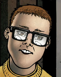 Gabriel Rodriguez's artwork of Rufus Whedon in the comic