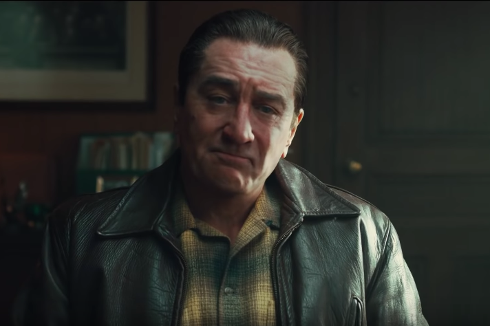 Digital de-aging allowed Robert De Niro to play the same character at multiple points in his life.