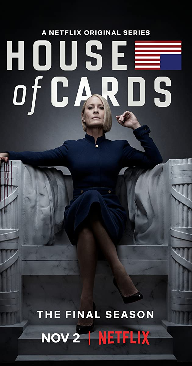 House of Cards poster for final season