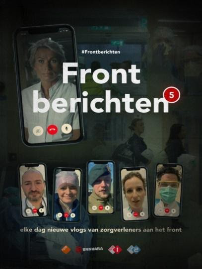 Frontberichten allows those who work on the front lines to broadcast their messages to the Netherlands and the world
