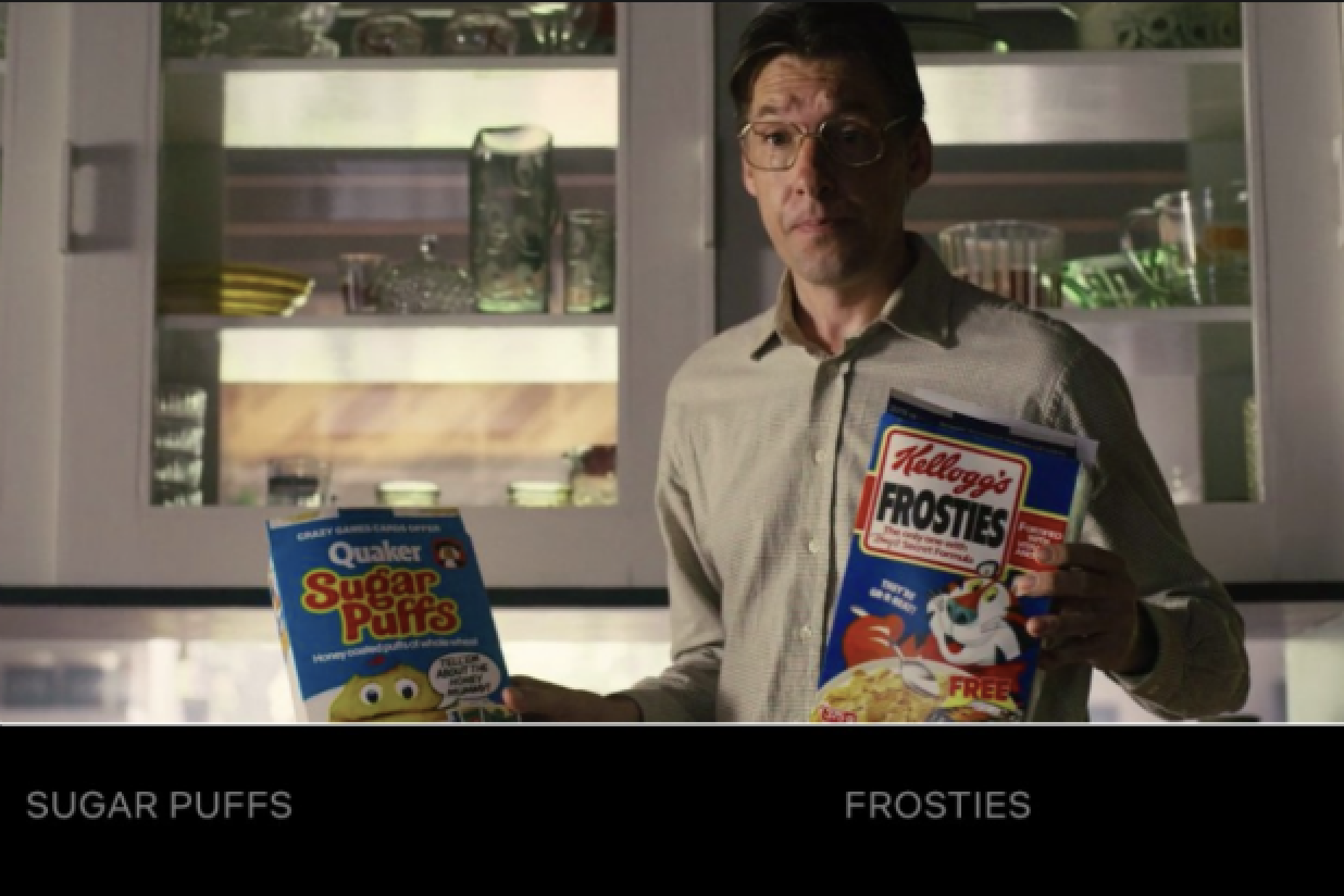 Black Mirror: Bandersnatch's interactive choices provide data directly on audience preference between commodities.
