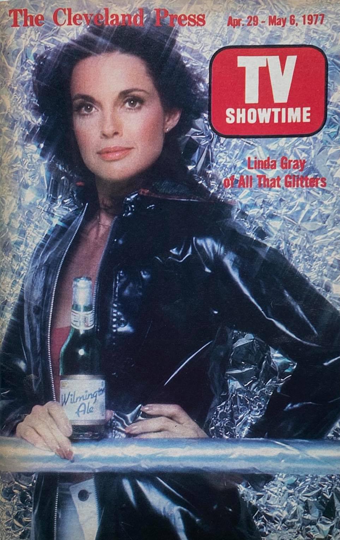 Magazine cover with Linda Murkland